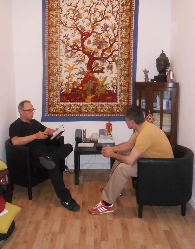 Marc Expósito Barra en una sesión
